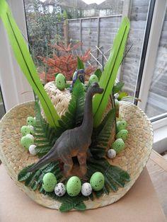 Easter Bonnet — Dinosaur (750x1000)