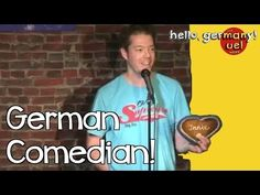 German Comedian, English Audience | ui. der blog.