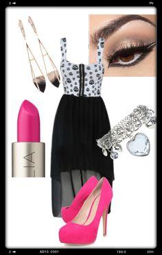 Pink n Black....