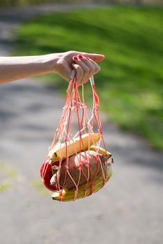 DIY knotted produce bag | KIttenhood