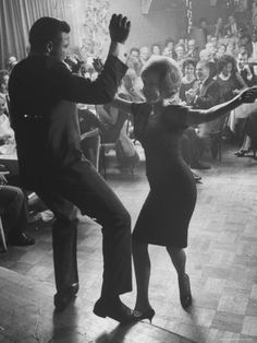 Chubby Checker, Originator of the Twist, dancing at the Crescendo Night Club.  This image from the archives of LIFE magazine first appeared on November 24, 1961.