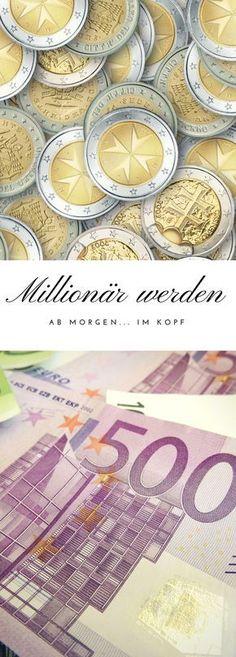 Super Tipps um Millionär im Kopf zu werden. Es gibt viele Möglichkeiten Geld zu sparen und zu Investieren. Was würdest du mit einer Millionen Euro machen?