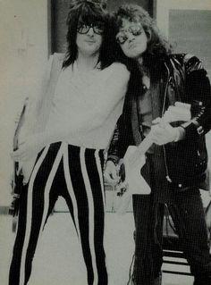 Pete Way (UFO) & Jake E Lee (Ozzy Osbourne)