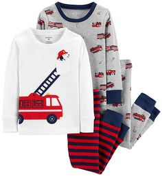 Shopping for boys sleepwear and boys pajama sets? Get baby boy PJs, baby boy footie pajamas and more at buybuyBABY. Need baby boy sleepwear? Baby Boy Pajamas, Carters Baby Boys, Toddler Boys, Baby Girls, Boys Sleepwear, Cotton Pyjamas, Baby Boy Outfits, Outfit Sets, Pajama Set