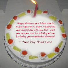 Greeting Birthday Candles Cake Name Wishes Image. Online Happy Birthday Cake With Name. HBD Cake On Name. Write Name On Greeting Birthday Cake Birthday Wishes Flowers, Birthday Wishes Cake, Happy Birthday Cakes, Happy Wedding Wishes, Online Birthday Cake, Cake Name, Birthday Cake With Candles, Wishes Images, Special Day