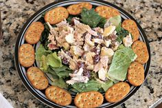 Fruity Chicken Salad - Weight Watchers version