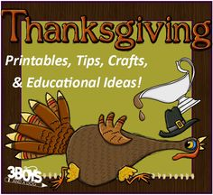 Printables for homemaking & homeschooling.  Tips, DIY, crafts, OH MY!  SO many good ways to celebrate Thanksgiving!