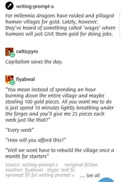 Working dragons...best defense of capitalism I've seen in a while. Anyone feel like we're reliving the French Revolution?
