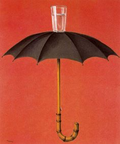 RENE MAGRITTE - the holidays of Hegel - 1958 - oil on canvas