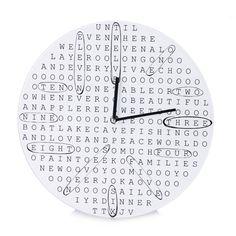 Puzzle, Clock, Wall, Home Decor, Watch, Puzzles, Decoration Home, Room Decor, Clocks