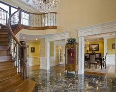 Traditional Staircase Double Island Design, Pictures, Remodel, Decor and Ideas - page 6