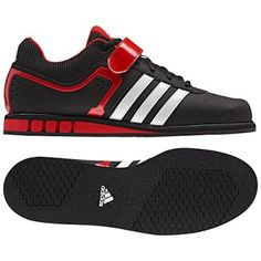 Tênis Adidas Men's Powerlift 2 0 Shoes Black Running White Red Q33821 #Tênis #Adidas