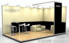 Radium Design 7 - Custom Rental trade show booth