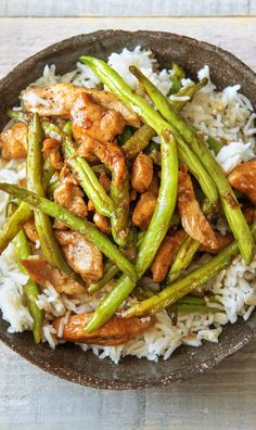 Rice is the ultimate side dish. It's hearty, versatile, and beloved by even the pickiest of eaters. In this recipe, we take this classic side up a notch by infusing it with rich, slightly sweet coconut milk. It pairs with juicy chicken and crispy green beans for an all-around awesome dinner.