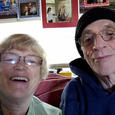 "#AdlandPro Shareing one of our  members Ken Wolff and his lovely wife Elaine Groff-Wolff that I saw on Facebook.Lol I loved her caption"" ""Ken thinks it is still winter while I am enjoying this beautiful spring day.""You can ..."
