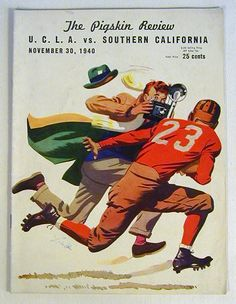 Jackie Robinson UCLA Football Program | Sports Memorabilia Museum