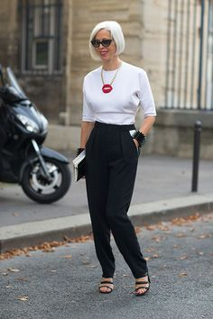 Street Style: Paris Fashion Week Spring 2014 - Linda Fargo