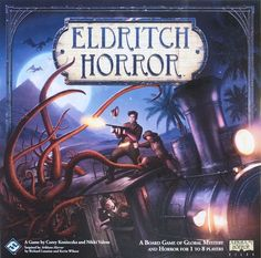 Game description from the publisher:  Across the globe, ancient evil is stirring. Now, you and your trusted circle of colleagues must travel around the world, working against all odds to hold back the approaching horror. Foul monsters, brutal encounters, and obscure mysteries will take you to your limit and beyond. All the while, you and your fellow investigators must unravel the otherworldy mysteries scattered around the globe in order to push back the gathering mayhem that threatens to ...