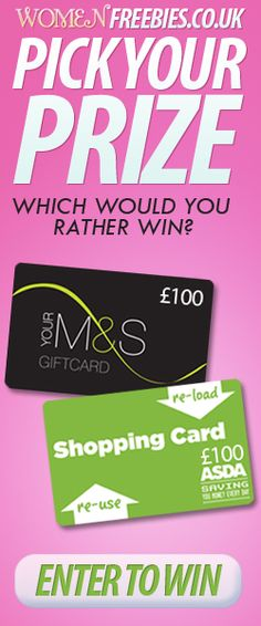 WomenFreebies: Pick YOUR Prize!    #MarksandSpencer #ASDA    *Competition closes October 24th*    http://womenfreebies.co.uk/competitions/womenfreebies-pick-your-prize/