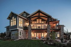 Traditional House Plan with Craftsman Touches - 95023RW - 05