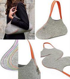 DIY: Zipper Shoulder Bag