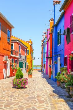 Visit Torcello, Murano and Burano—three islands in the Venetian Lagoon—http://www.exquisitecoasts.com/