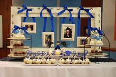 Unique Graduation Party Themes | Graduation Table Decoration Ideas Photograph | Party Decor