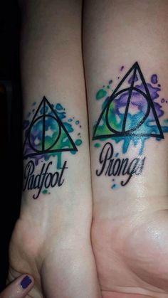 Harry Potter BFF tattoo