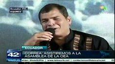 """Correa pondrá en su sitio a """"burocracia internacional"""""""