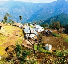 Namje, Nepal - the only way to get to the Nepalese village is along a series of footpaths with views of Mount Makalu, the world's 5th tallest peak.