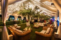 Box wood Bar and Lounge area. Nature inspired reception. Green, Cream, Grey and burlap Wedding.  Della Ramsey Weddings. ©Ruth Rackley Photography. Brookgreen Gardens