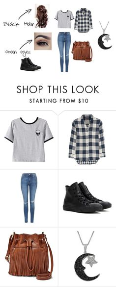 """""""Crystal Argent"""" by kayeve123 ❤ liked on Polyvore featuring Chicnova Fashion, Madewell, Topshop, Converse, FOSSIL and Jewel Exclusive"""