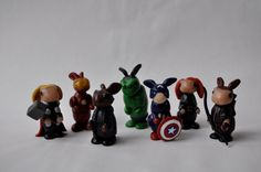 Iron Man. Thor.  And all the Avengers...