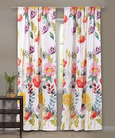drapes te floral patterns curtain