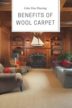 Wool carpet has a multitude of benefits and worth considering: Easy to clean, strong and durable, environmentally friendly, comfortable, and more!