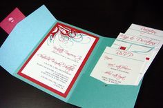 red & aqua wedding | Recent Photos The Commons Getty Collection Galleries World Map App ...