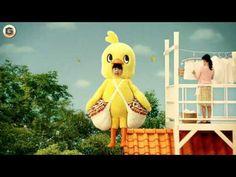 30s Ashida Aina CM Nissin Chicken Ramen ⑤ washing Hen - YouTube