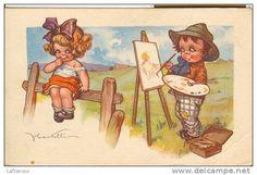 enfants illustrateurs - Delcampe.fr castelli