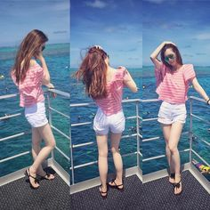 暴晒的一天 #greatbarrierreef#outfit#sunmer#lzana#vb#sundayfunday#follow#love#ocean#出海#大堡礁 by jue_yy http://ift.tt/1UokkV2