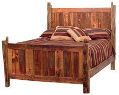rustin headboards for twin beds | Teton Barnwood Bed