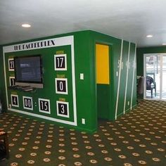 basement on pinterest football decor soccer and world cup