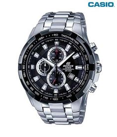 Buy Original Casio Edifice Chronograph watch collection in online store BD. Shop online in Bangladesh for Casio Edifice and pay Cash on Delivery in Dhaka. Gents Watches, Stylish Watches, Sport Watches, Luxury Watches, Cool Watches, Watches For Men, Relogio Casio Edifice, Waterproof Watch, Casio G Shock