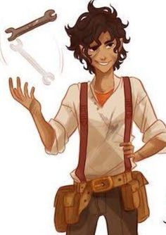 viria fan art LEO VALDEZ<<he is my fictional character crush, at least from the Heroes of Olympus series Percy Jackson Fan Art, Percy Jackson Characters, Percy Jackson Quotes, Percy Jackson Books, Percy Jackson Fandom, Percabeth, Jason Grace, Piper Mclean, Leo Valdez Funny