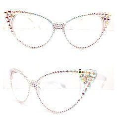 d826fc6639a0f Optical Cat Eye Crystal Reading Glasses