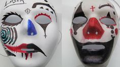 These are some pretty cool clown masks!