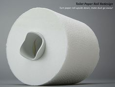Toilet Paper With a Twist | Yanko Design