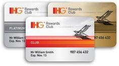 IHG member cards