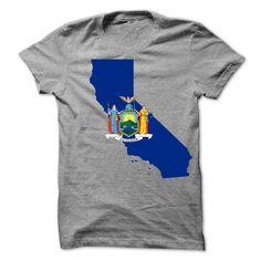 New York and ᓂ California!New York and California! Perfect for you.Shirt, New Your Shirt, California Shirt, Shirts