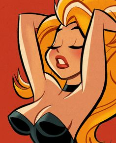 Black Canary (detail) by Shane Glines