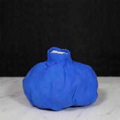 BLUE PORCELAIN BUD VASE—Ben Medansky Ceramics